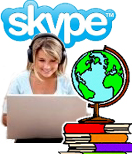 International SAT prep Skype phone study online ACT GRE